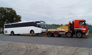 we provide 24/7 bus towing for government business and private