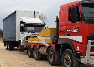 talk to us about heavy haulage